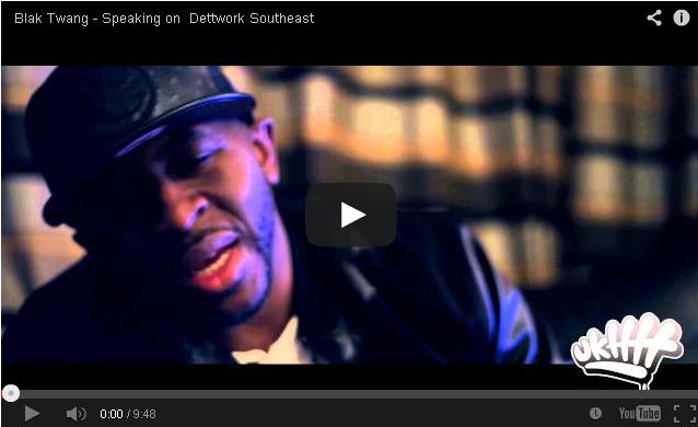 BRITHOPTV- [Video Interview] Blak Twang (@BlakTwang) Speaks on the release of his album 'Dettwork Southeast' - #UKRap
