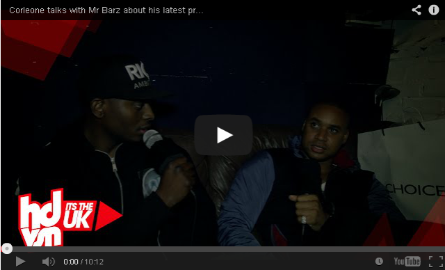 "BRITHOPTV- [Video Interview] Corleone (@CorleoneGB) talks with Mr Barz about his latest project ""The Godfather"" #BritainsGotBarz - [@HDVSN] - #Grime"
