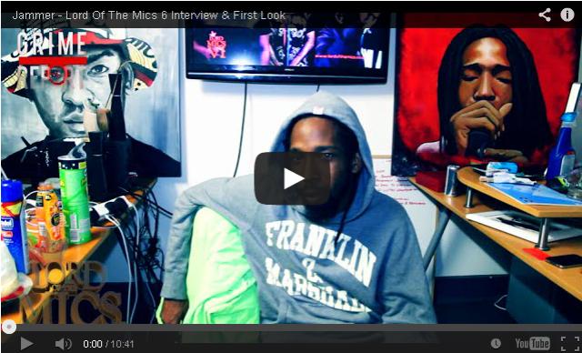 BRITHOPTV- [Video Interview] Jammer (@JammerBBK) – @LordOfTheMics 6 Interview & First Look [@GrimeReportTV] - #Grime