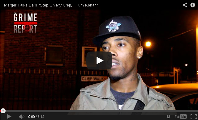 "BRITHOPTV- [Video Interview] Marger (@ItzMarger) Talks Bars ""Step On My Crep, I Turn Konan"" - #Grime"