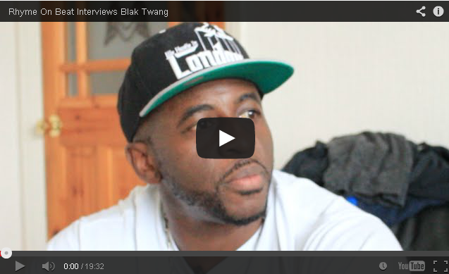 BRITHOPTV- [Video Interview] Rhyme On Beat (@RHYMEONBEAT ) interview with Blak Twang (@BlakTwang) - #UKRap #UKHipHop