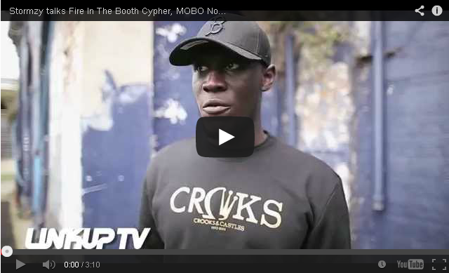 BRITHOPTV- [Video Interview] Stormzy (@Stormzy1) talks Fire In The Booth Cypher, MOBO Nomination + MORE - #UKRap #UKHipHop