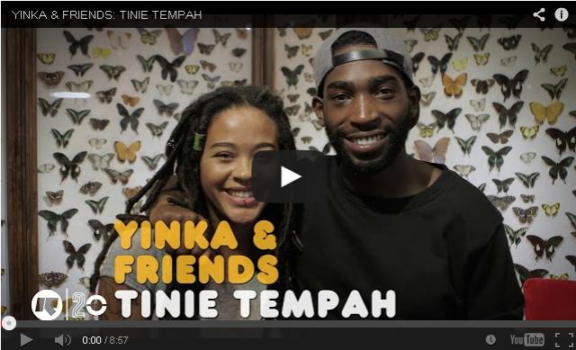 BRITHOPTV- [Video Interview] Yinka & Friends- Tinie Tempah (@TinieTempah) interview - UK Rap UK Hip Hop