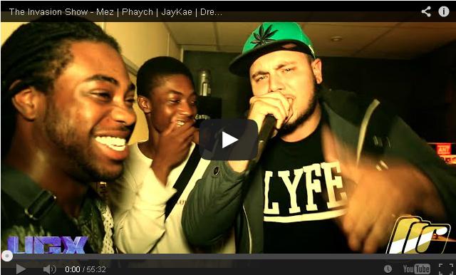 BRITHOPTV- [Video Set] @DJFreeInvasion #TheInvasionShow – @uncleMez, Phaych, @JayKae_Invasion, @MCDred1, @itsrikkers, @SNOW667, @IzzieGibbs, & @Rawgz13 [@UGXposure] - #Grime.