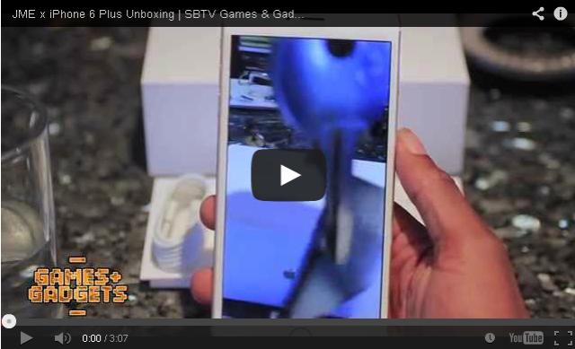 BRITHOPTV- [Web Show] JME (@JMEBBK) Unboxes & reviews #Iphone6 [SBTV Games & Gadgets] - #Grime #Tech #Gadgets #SmartPhone