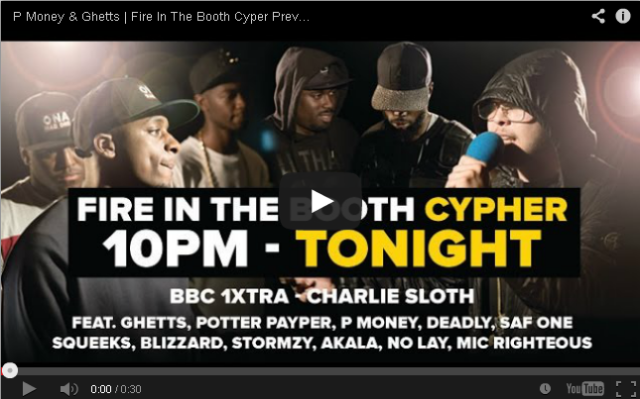 Fire In The Booth Cypher Pic