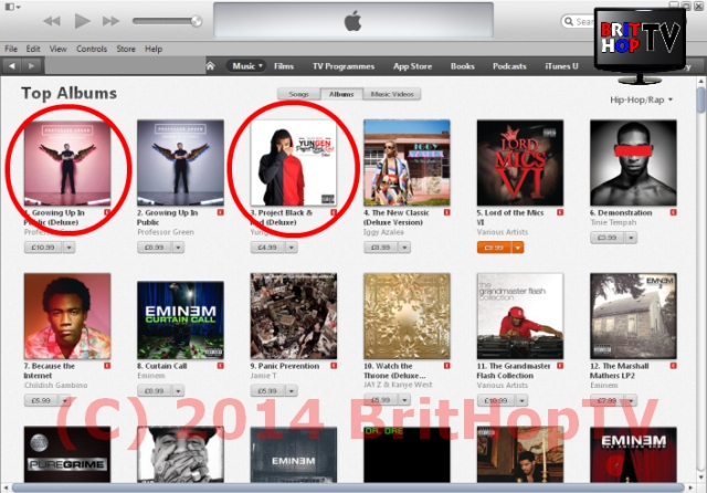 Pro Green 1 &and 2 on Itunes 28 Sept WM