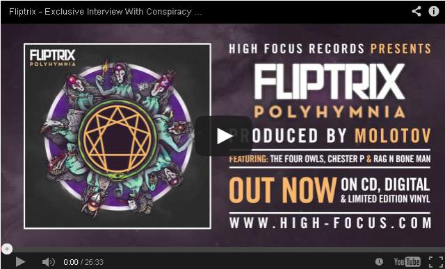 BRITHOPTV- [Audio Interview] Fliptrix (@MrFliptrix) – Exclusive Interview With Conspiracy Worldwide Radio [@Mista_Montana] - #HipHop #UKHipHop.