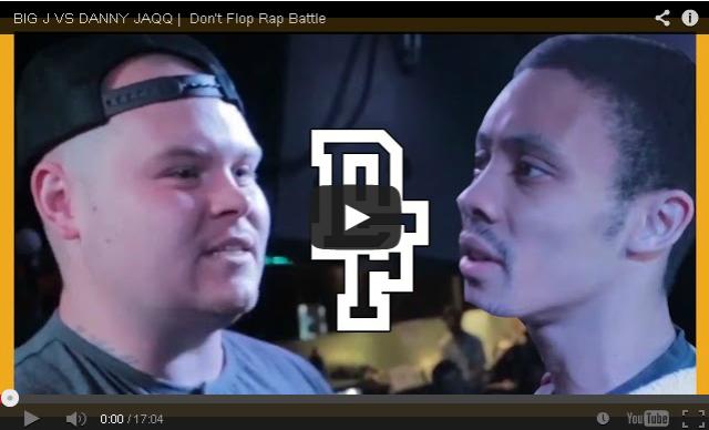 BRITHOPTV- [Battle Video] Big J (@BigJWest) Vs Danny Jaqq (@DannyJaqq) [ @DontFlop] - #UKHipHop #UKBattleRap