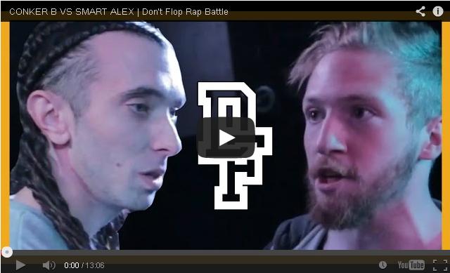 BRITHOPTV- [Battle Video] Conker B (@ConkerBoss) Vs Smart Alex (@Alexample) [@DontFlop] - #UKHipHop #UKBattleRap