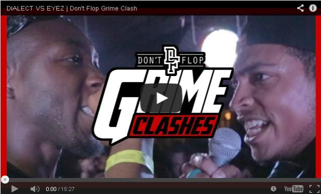 BRITHOPTV- [Battle Video] Dialect (@Dialect1) Vs – Eyez (@Eyez_UK) #GrimeClash [@DontFlop] - #Grime.