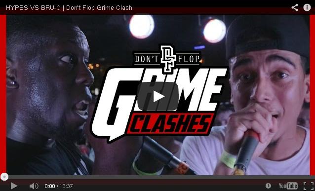 BRITHOPTV- [Battle Video] Grime Clash- Hypes (@ManchesterHypes) Vs Bru-C (@ItsBru_C) [@DontFlop] - #Grime #MCClash