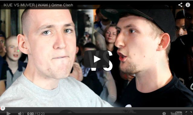 BRITHOPTV- [Battle Video] WAW Grime Clashes- Ikue (@ikueartist) Vs Muver (@mrmuver) [@wawgrimeclashes] - #Grime.