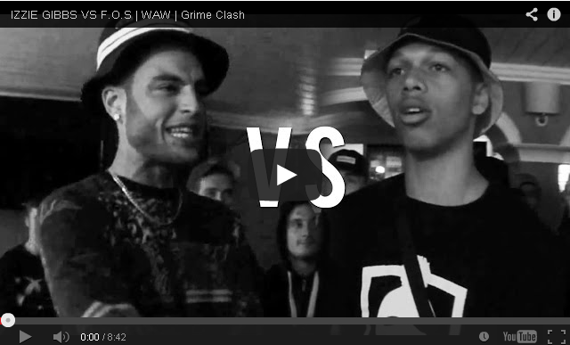 BRITHOPTV- [Battle Video] WAW Grime Clashes- Izzie Gibbs (@izziegibbs) Vs F.O.S (@plangeette) [@wawgrimeclashes] - #Grime