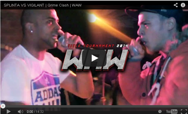 BRITHOPTV- [Battle Video] WAW Grime Clashes- Splinta (@artistsplinta) Vs Vigilant [@wawgrimeclashes] - #Grime