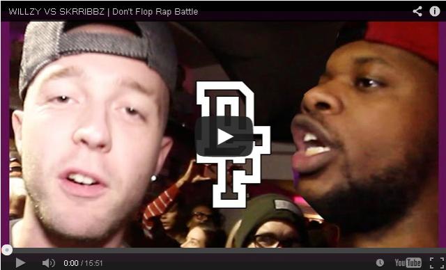 BRITHOPTV- [Battle Video] Wizzy (@WillzyArtist) Vs Skrribbz (@Skrribbz) [@DontFlop] - #UKHipHop #UKBattleRap