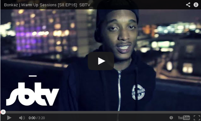 BRITHOPTV- [Freestyle] Bonkaz (@OfficialBonkaz) #WarmUpSession [S8.EP15]- @SBTV -#UKRap
