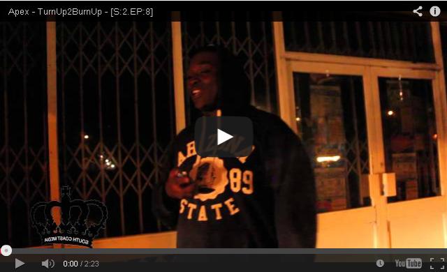 BRITHOPTV- [Freestyle Video] Apex (@Apex_Artist) – #TurnUp2BurnUp – [S-2.EP-8] [@SCM_UK] - #Grime