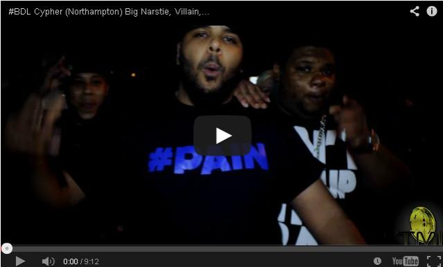 BRITHOPTV- [Freestyle Video] #BDL Cypher (Northampton) Big Narstie (@BigNarstie), Villain (@VillainInvasion), Typah (@TypahMc), Izzie Gibbs (@IzzieGibbs) ,