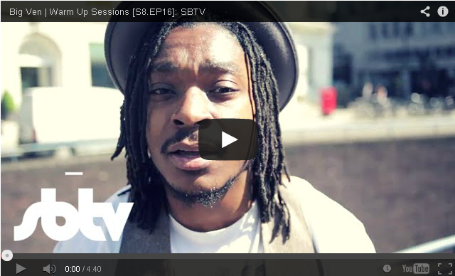 BRITHOPTV- [Freestyle Video] Big Ven (@BigVen_ ) – ' #WarmUpSessions' [S8.EP16] - #UKRap #UKHipHop
