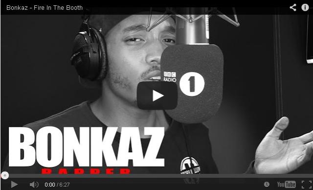 BRITHOPTV- [Freestyle Video] Bonkaz (@OfficialBonkaz) – ' #FireInTheBooth' [ @CharlieSloth] - #UKRap #UKHipHop