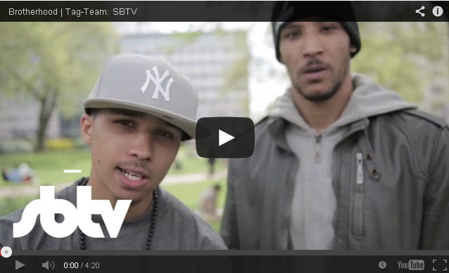 BRITHOPTV- [Freestyle Video] Brotherhood (@BrotherhoodUK) – ' #TagTeam #Freestyle [SBTV] - #UKHipHop #UKRap