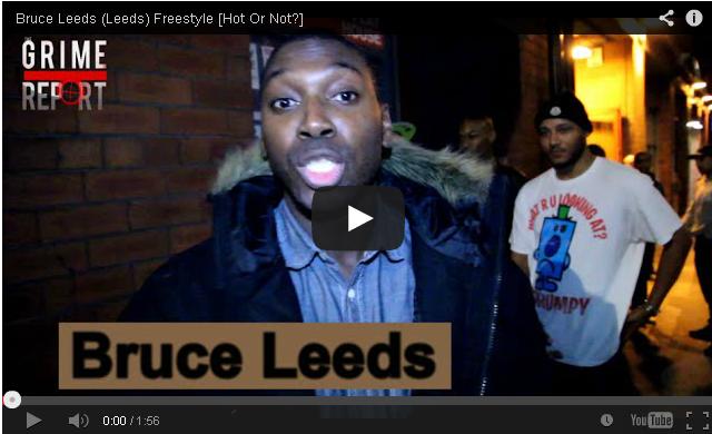 BRITHOPTV- [Freestyle Video] Bruce Leeds – ' #HotorNot ' Freestyle [@GrimeReportTV]- #Grime #UKRap