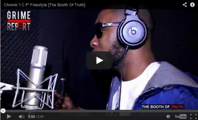 BRITHOPTV- [Freestyle Video] Chronik (@DaRealChronik) – 'I C P' Freestyle [The Booth Of Truth] - #UKHipHop #UKRap