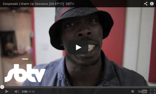 BRITHOPTV- [Freestyle Video] Desperado (@desperado_ogz) – ' #WarmUpSessions' [S8.EP17]- SBTV - #UKRap #UKHipHop.