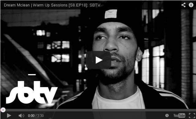 BRITHOPTV- [Freestyle Video] Dream Mclean (@Dream Mclean) – ' #WarmUpSession' [S8.EP18] - #UKHipHop #UKRap