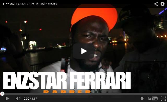 BRITHOPTV- [Freestyle Video] Enzstar Ferrari (@EnzstarFerrari) – ' #FireInTheStreets' [ @CharlieSloth] - #UKRap #UKHipHop