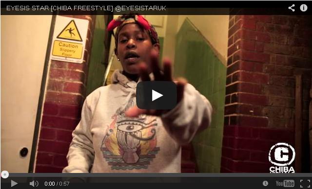 BRITHOPTV- [Freestyle Video] Eyesis Star (@EYESISTARUK ) – ' #ChibaFreestyles' [@ChibaVisuals] - #UKHipHop.