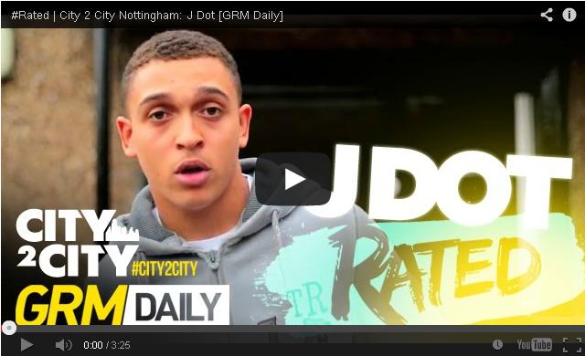 BRITHOPTV- [Freestyle Video] J Dot (@Jdotnotts) – ' #Rated City 2 City – #Nottingham [GRMDaily] - #Grime #UKRap