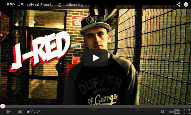 BRITHOPTV- [Freestyle Video] J-RED (@jaredbeerling) – #StreetHeat Freestyle - #UKRap #UKHipHop