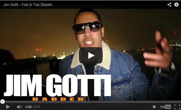 BRITHOPTV- [Freestyle Video] Jim Gotti – ' #FireInTheStreets' [@CharlieSloth] - #UKRap #UKHipHop