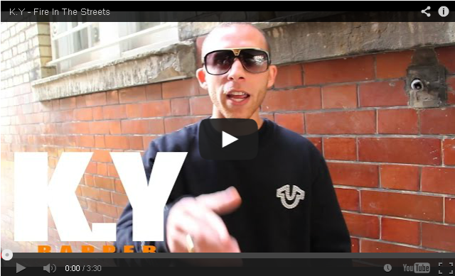 BRITHOPTV- [Freestyle Video] K.Y. (@KY_Official) – ' #FireInTheStreets' #Leicester [ @CharlieSloth] - #UKRap #UKHipHop