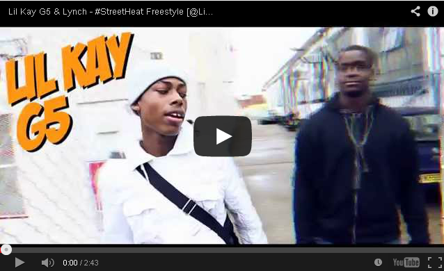 BRITHOPTV- [Freestyle Video] Lil Kay G5 (@LilKayG5) & Lynch (@Real_Lynch) – #StreetHeat Freestyle - #UKRap #UKHipHop