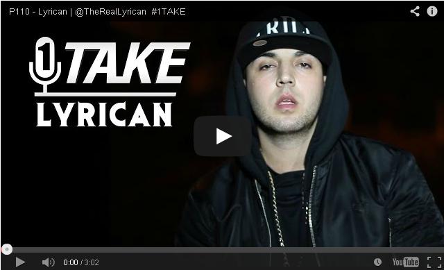 BRITHOPTV- [Freestyle Video] Lyrican (@TheRealLyrican) – #1TAKE #Freestyle [ @P110Media] - #UKRap #UKHipHop