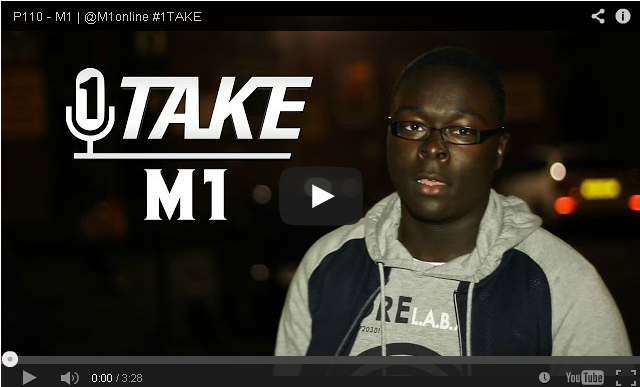 BRITHOPTV- [Freestyle Video] M1 (@M1online) – #1TAKE #Freestyle [ @P110Media] - #UKRap #UKHipHop