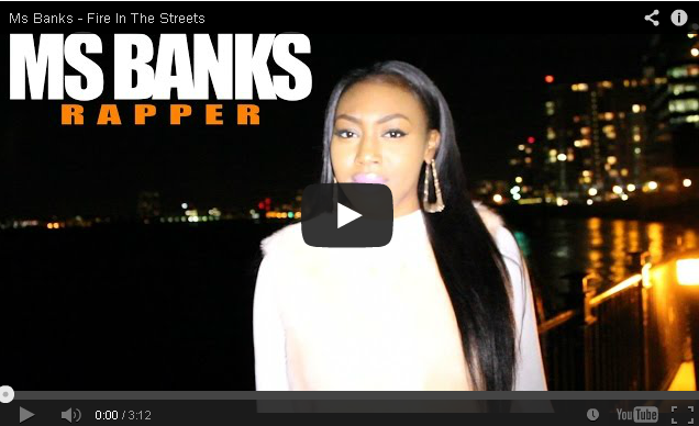 BRITHOPTV- [Freestyle Video] Ms Banks (@MsBanks92)- ' #FireInTheStreets' [ @CharlieSloth] - #UKRap #UKHipHop