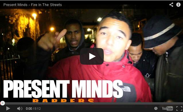 BRITHOPTV- [Freestyle Video] Present Minds – ' #FireInTheStreets' [@CharlieSloth] - #UKRap #UKHipHop
