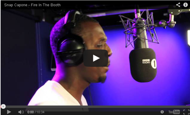 BRITHOPTV- [Freestyle Video] Snap Capone (@Snap Capone) – ' #FireInTheBooth' [ @CharlieSloth] - #UKRap #UKHipHop