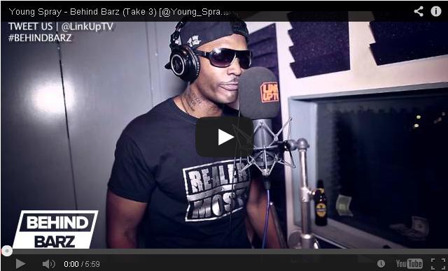 BRITHOPTV- [Freestyle Video] Young Spray (@Young_Spray) – ' #BehindBarz' [ @LinkUpTV] - #UKRap #UKHipHop
