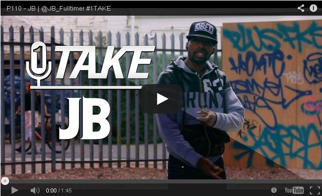 BRITHOPTV- [Freestyle Video]JB (@JB_Fulltimer) – #1TAKE #Freestyle [ @P110Media] - #UKRap #UKHipHop