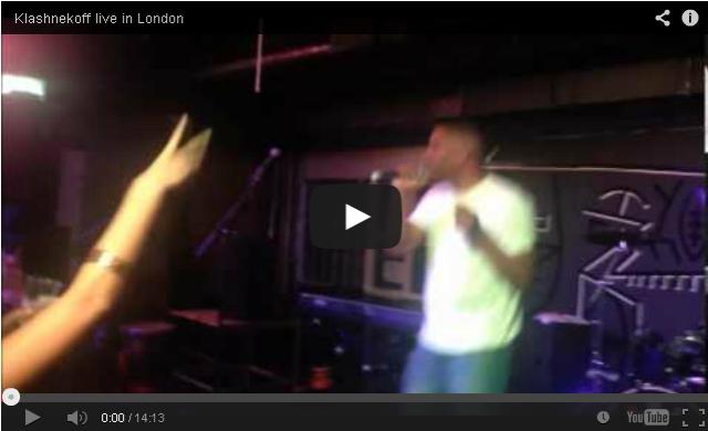 BRITHOPTV- [Live Performance] Klashnekoff (@Klashnekoff) live in London - #UKRap #UKHipHop