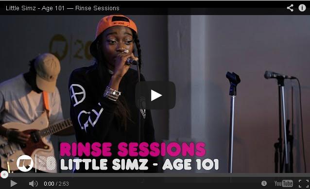 BRITHOPTV- [Live Performance] Little Simz (@LittleSimz) Age 101 — Rinse Sessions (@RinseFM) - #UKRap #UKHipHop