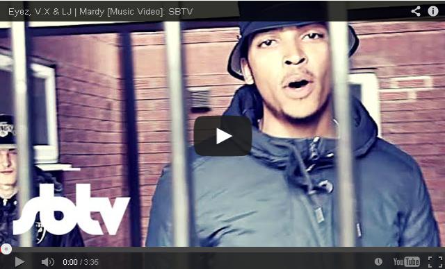 BRITHOPTV- [Music Video] Eyez (@Eyez_UK), V.X (@VX_01332 ), & LJ (@LJ_ukmusic) – 'Mardy' [SBTV] - #Grime #UKRap