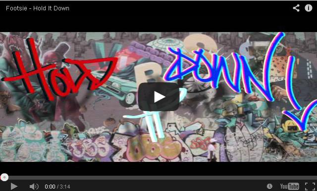 BRITHOPTV- [Music Video] Footsie (@Footsie) – 'Hold It Down'