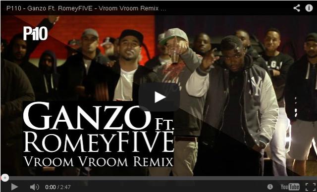 BRITHOPTV- [Music Video] Ganzo (@GanzTheNicest) – ' Vroom Vroom Remix Ft. ROMEYfive (@ROMEYfive)' - #UKRap #UKHipHop