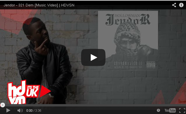 BRITHOPTV: [Music Video] Jendor (@Hollowmanjendor) – '321 Dem' [@hdvsn] | #Grime